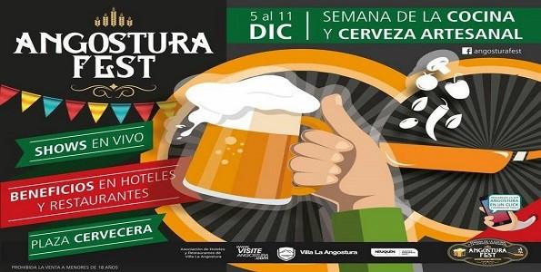 2° Edición de Angostura Fest – Semana de la Cocina y la Cerveza Artesanal