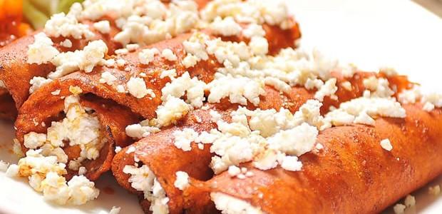 Receta de Enchiladas de Pollo