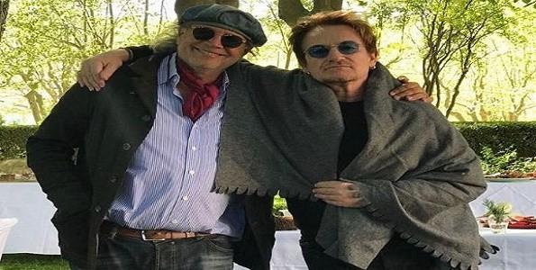 """Francis Mallmann cocinó para Bono de """"U2"""""""