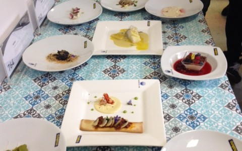 Semifinal del Concurso Cocinero del Año en Santiago