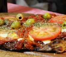Receta de matambre a la pizza